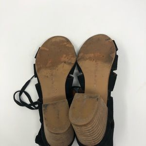Lucky Brand Shoes - Lucky Brand Genevie Ghillie Lace Up Sandals